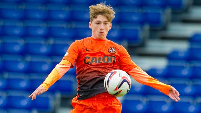Ryan Gauld: Happy to stay at Dundee United