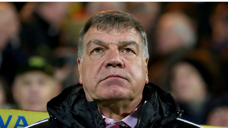 Sam Allardyce: Frustrated by the performance of his players and the match officials