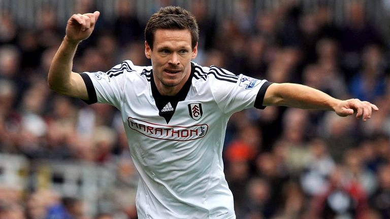Sascha Riether: Refused to be drawn on his future at Fulham