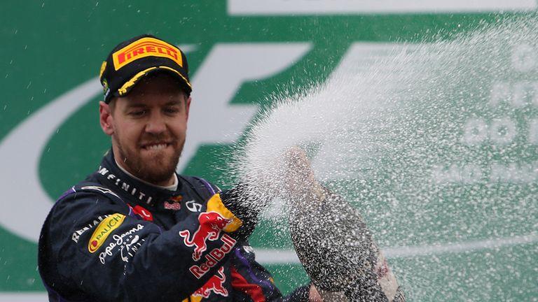 Sebastian Vettel: In a league of his own again
