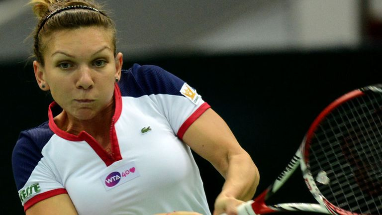 Simona Halep is through to another final - this time in Sofia