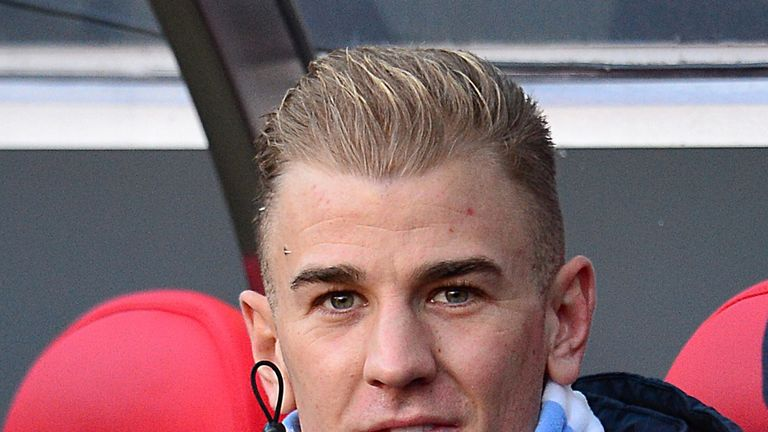 Joe Hart: Was on the bench again at Sunderland