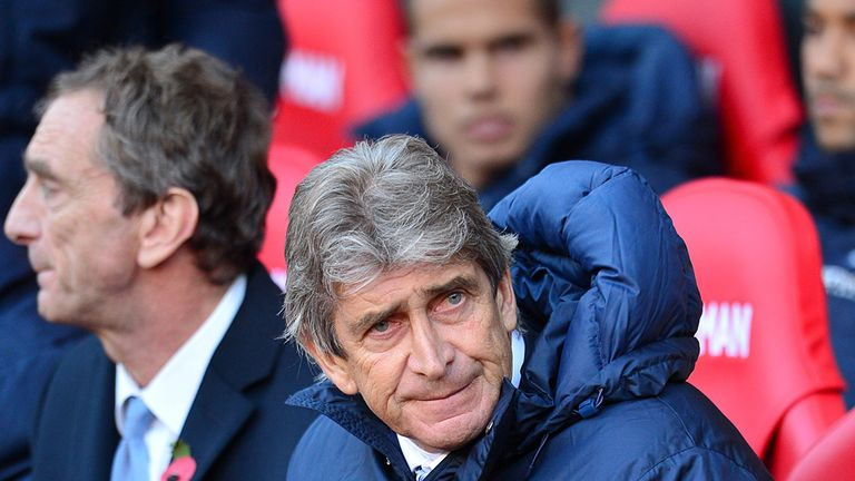 Manuel Pellegrini remains positive on Manchester City's title chances