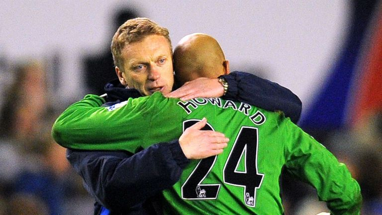 David Moyes: Was like a father figure to Tim Howard
