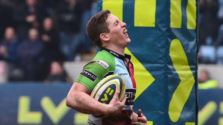 Tom Williams: Will start at full-back for Harlequins
