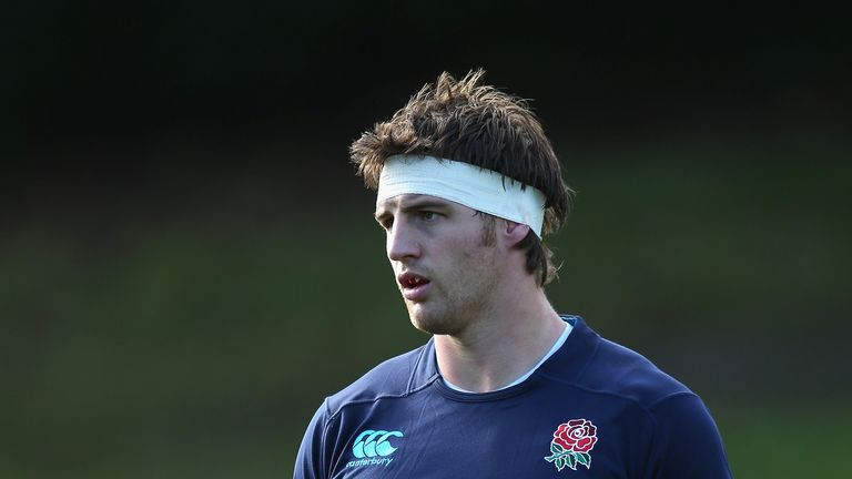 Tom Wood: Insists England are not lacking any self-belief ahead of Saturday's clash with the All Blacks