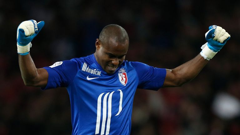 Vincent Enyeama: Delighted to be staying at Lille after signing new deal