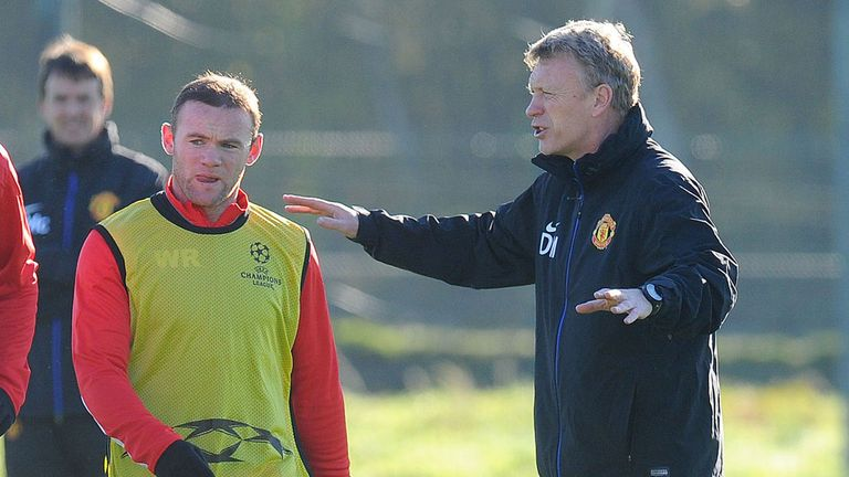 David Moyes has been delighted with Wayne Rooney this season