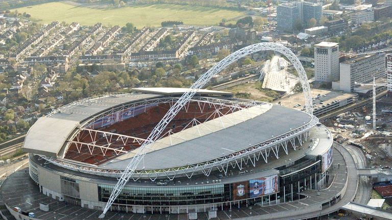 Wembley Stadium: Partnership deal with EE agreed
