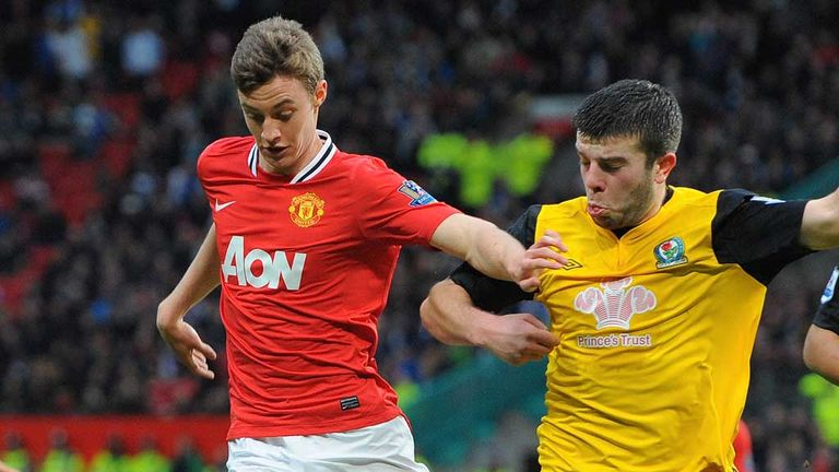 Will Keane (l): Knows he will have to battle for his place at Rangers