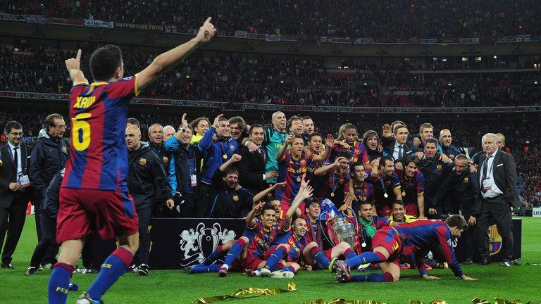 Xavi has won 23 trophies with the Catalan club