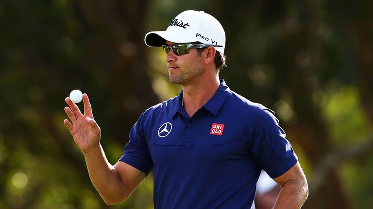 Adam Scott: Recovered from a mid-round 'slump'