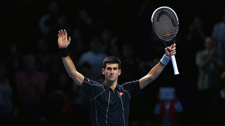 Djokovic: loving it in London