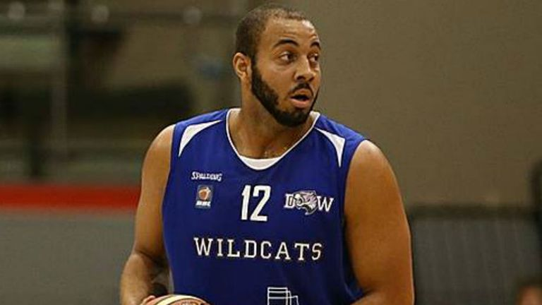 RJ Evans: Helped the Durham Wildcats secure victory over the Plymouth University Raiders