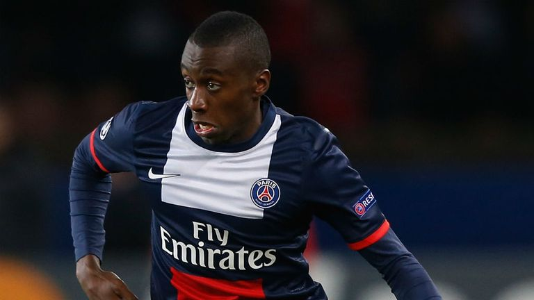 Blaise Matuidi: Paris St Germain contract will expire at the end of the season