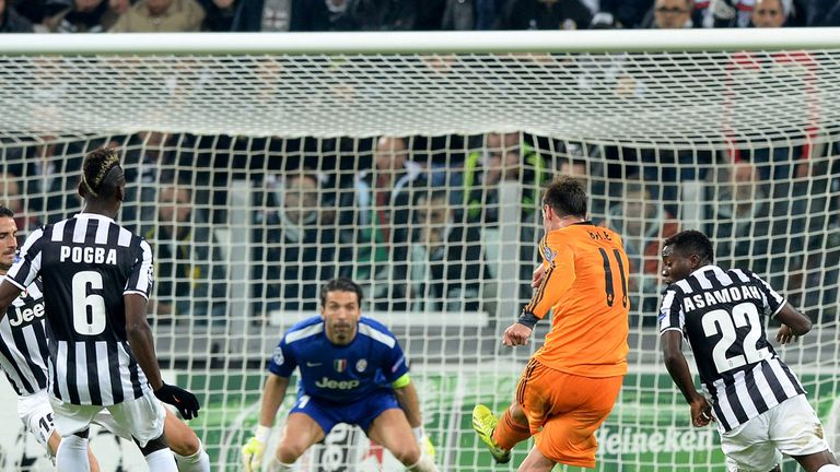 Gareth Bale: Puts Real Madrid ahead in the second half before Juve equalised