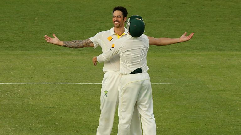 Mitchell Johnson: Talked himself up pre-series and delivered on those words in Brisbane