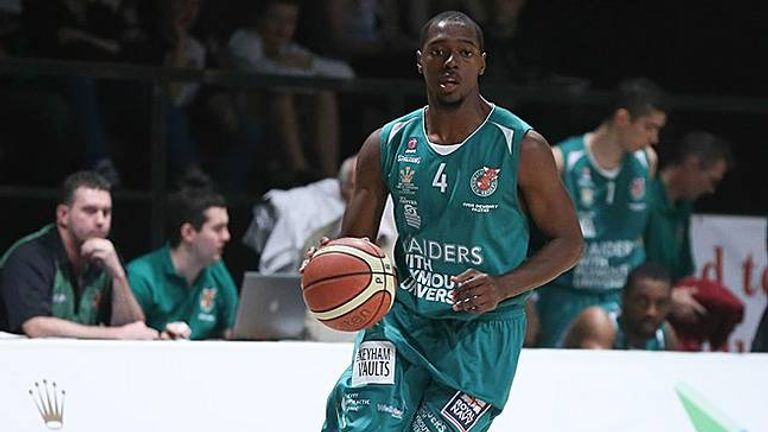 Donald Robinson of the Plymouth Raiders