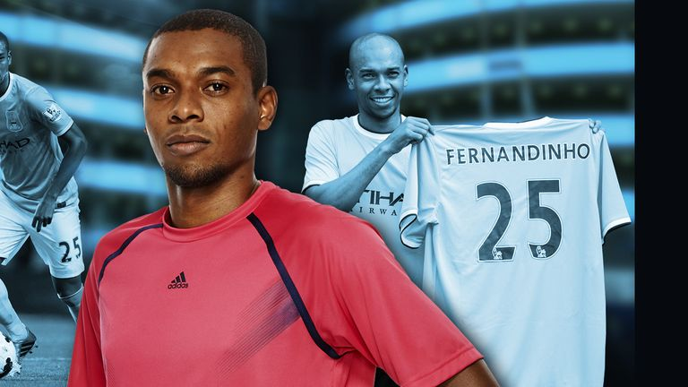 Fernandinho: 'Playing with Aguero, Silva and Toure is fantastic, marvellous. They are great'