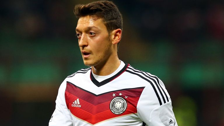 Mesut Ozil: Won't feature in Germany squad at Wembley