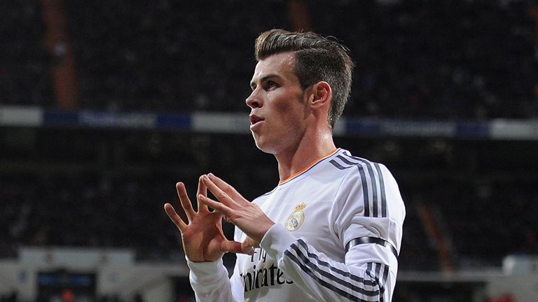 Gareth Bale scored a hat-trick for Real Madrid