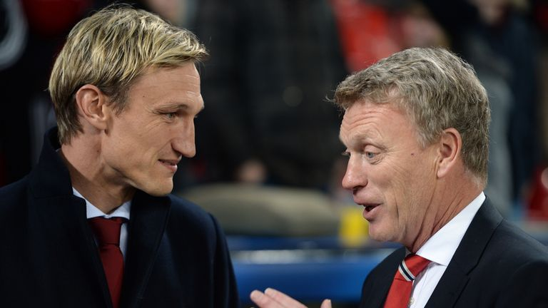 David Moyes: Full of praise for a 'special' win by Manchester United