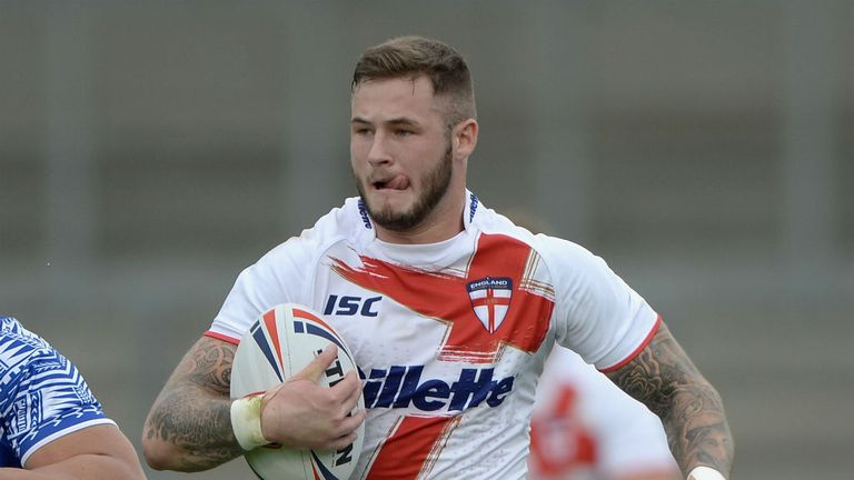 Zak Hardaker: Issued an apology after withdrawing from England World Cup squad