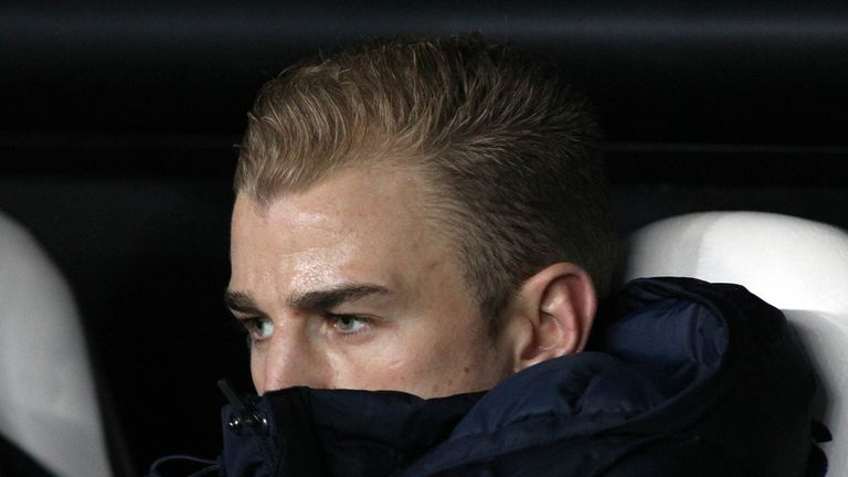 Joe Hart: Expected to be named on the bench against CSKA Moscow