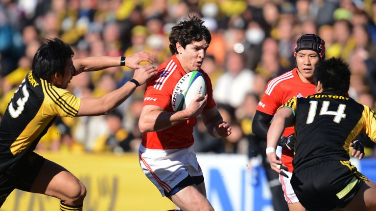 Jaque Fourie: centre handed Cardiff chance