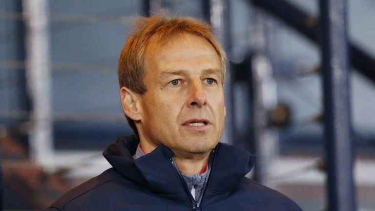 Jurgen Klinsmann: Impressed by Gordon Strachan's impact as Scotland boss