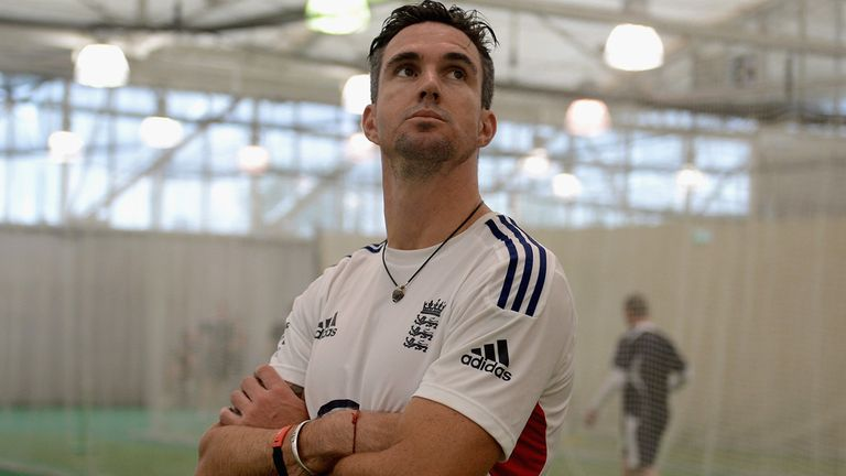 Pietersen: set to play in 100th Test match