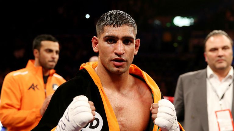 Amir Khan: Considering his options