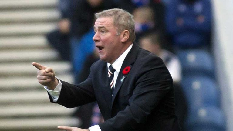 Ally McCoist: Rangers manager is delighted with the win over Airdrie
