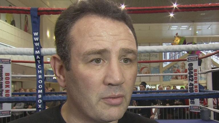 Robert McCracken: Has been devising a gameplan for Carl Froch