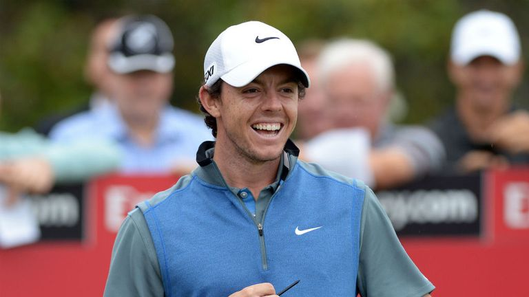 Rory McIlroy: Pleased to have fired himself into contention at the Australian Open