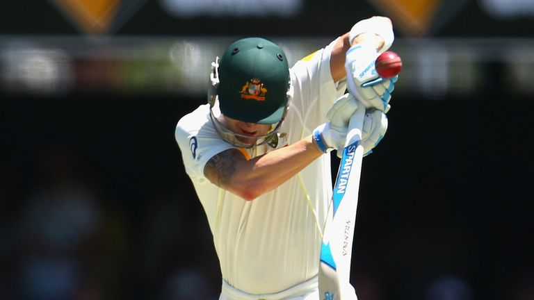 Michael Clarke: Vulnerable against the short ball, according to Bob Willis