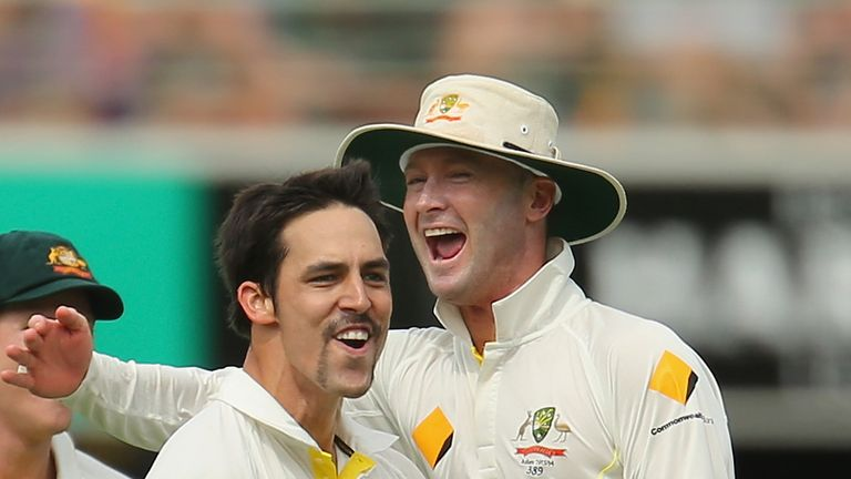 Australia: recorded a thumping win in the first Test at The Gabba
