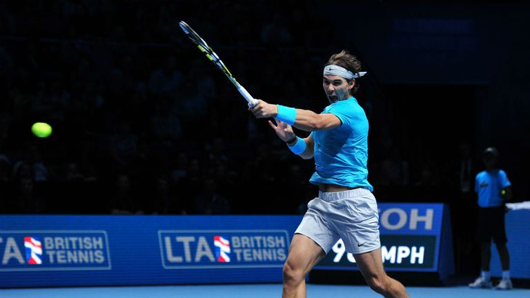Rafael Nadal: Beat Tomas Berdych in three sets at the O2 Arena