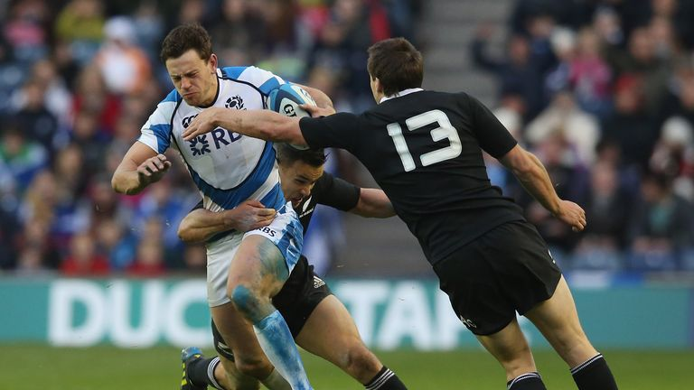 Nick De Luca: Missed the RBS Six Nations campaign and Scotland's summer Tests