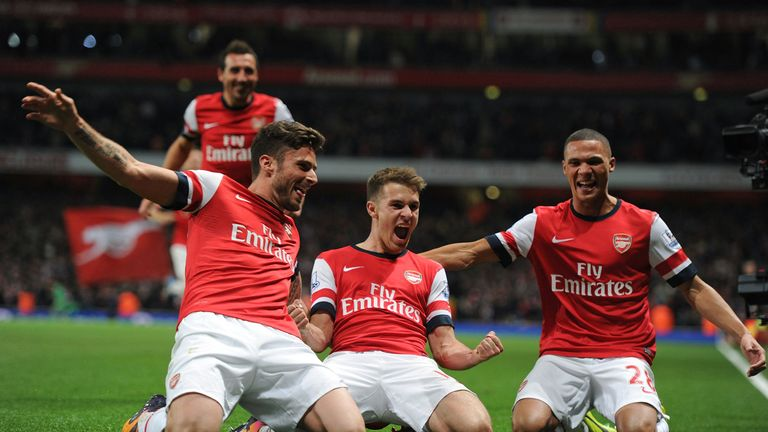 Arsenal: five points cleat at the top ahead of two big away trips