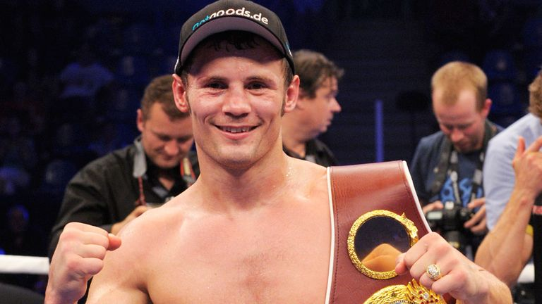 Robert Stieglitz: Hopes to face winner of Carl Froch-George Groves