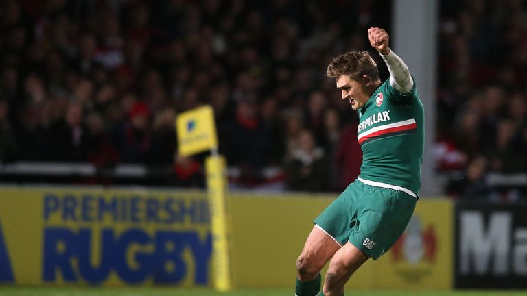 Toby Flood: Kicked 17 of Leicester's 22 points