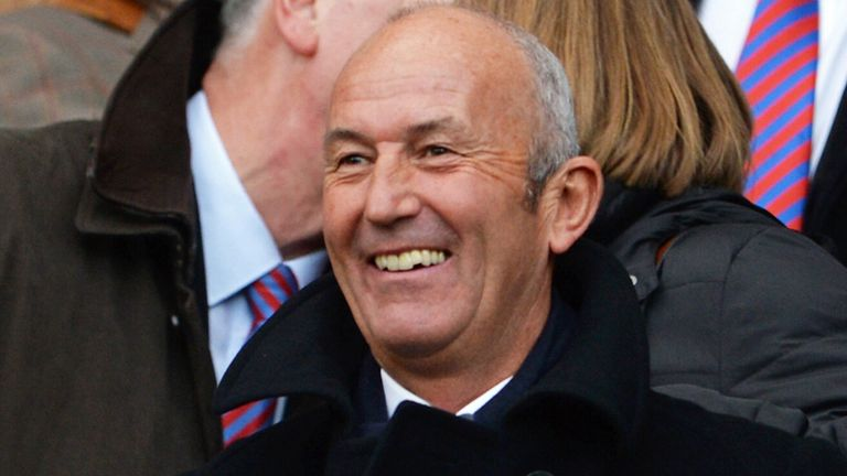 Tony Pulis: First day on the job