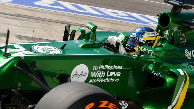 Charles Pic: Has left Caterham ahead of new season