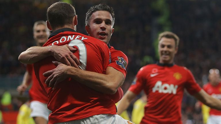 Wayne Rooney and Robin van Persie: Manchester United duo will miss trip to Chelsea