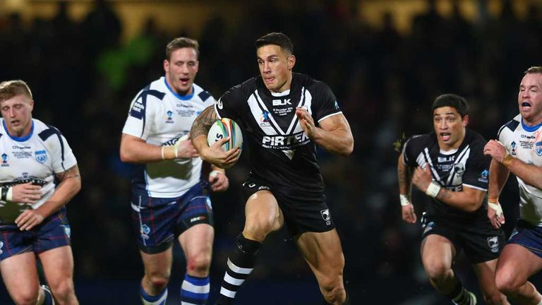 Sonny Bill Williams: New Zealand star's injury is played down