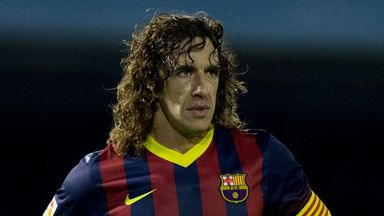 Carles Puyol: Andres Iniesta wants the defender to stay at the Nou Camp