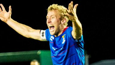 Richie Foran: Inverness Caley midfielder has signed a new three-year deal