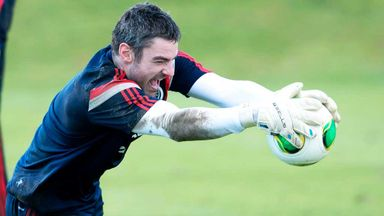 Matt Gilks: Blackpool keeper is out of the Scotland squad