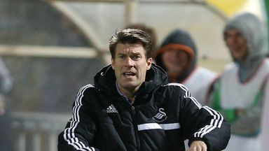 Michael Laudrup: Swansea boss pleased despite defeat